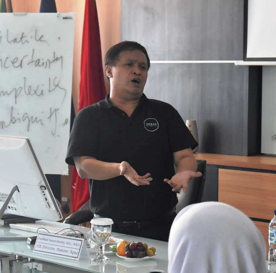 SHARING EXPERIENCE SESSION IN CORPORATE STRATEGY With Pambudi Sunarsihanto, Msc, MBA