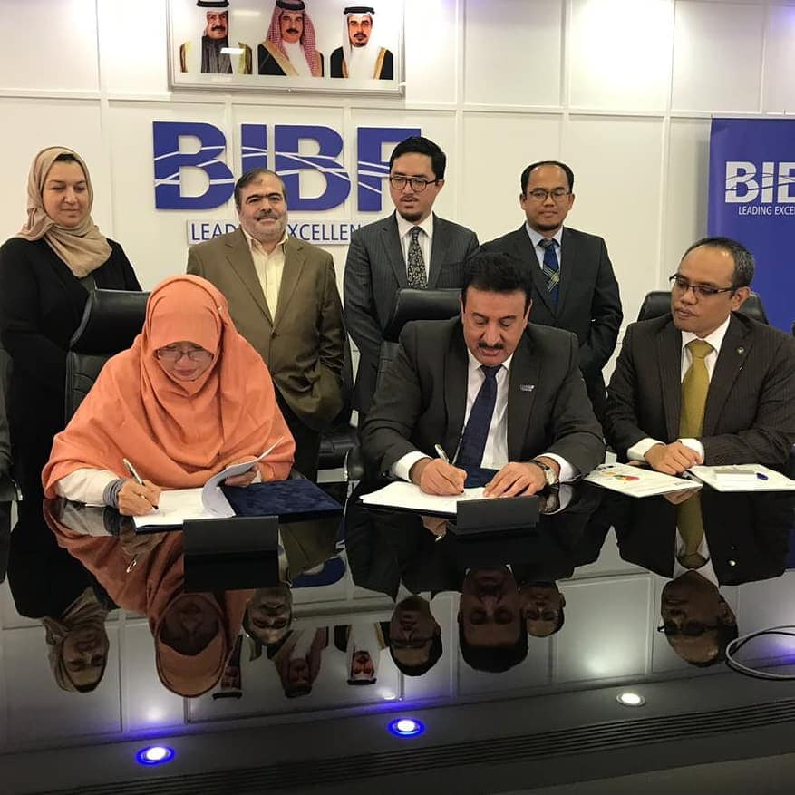 Tazkia Tandatangani Kerjasama Dengan Bahrain Istitute of Banking and Finance