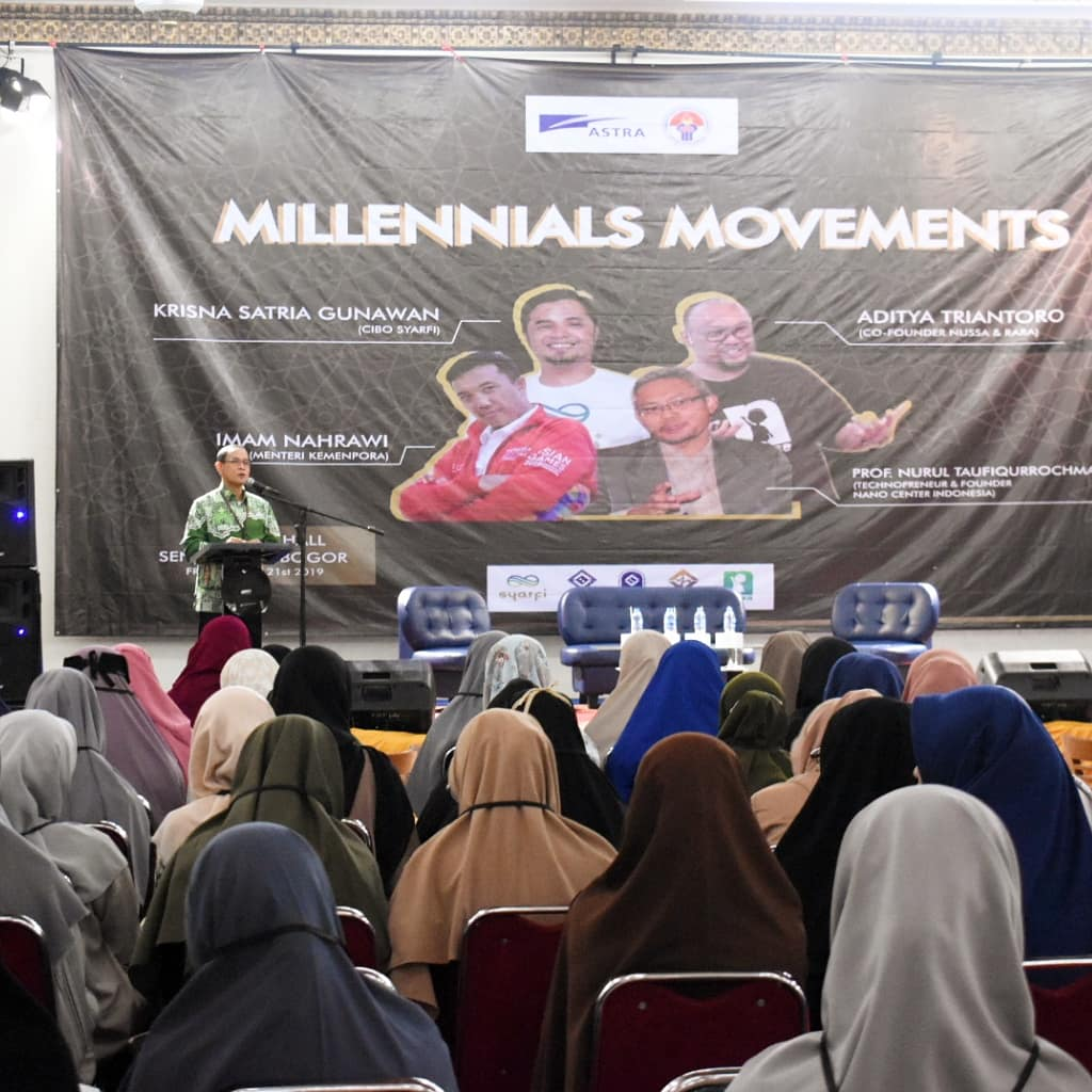 Millennials Movements Tazkia with Kemenpora