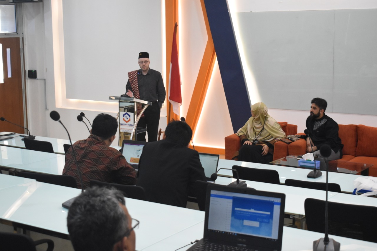 "The team of ""English for Ulama"" visited Tazkia Islamic University College"